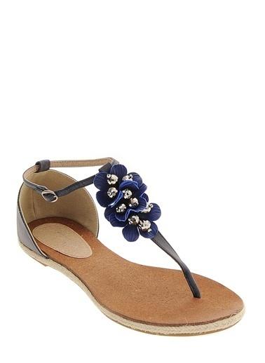 Asymmetry Sandalet Lacivert